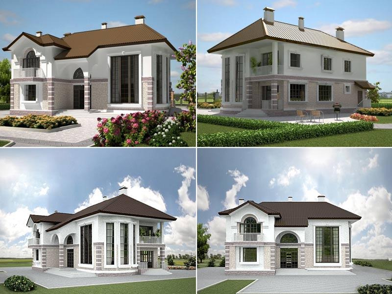 Каркасно-щитовой дачный дом под ключ: проекты и цены на