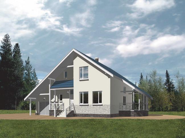 Дома на двух хозяев фото проекты