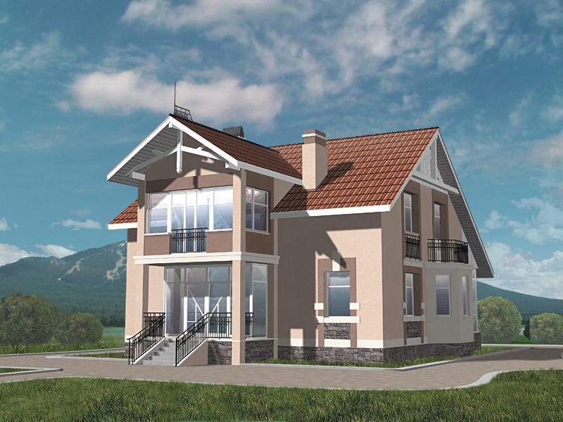Скачать Проекты Домов 8Х9