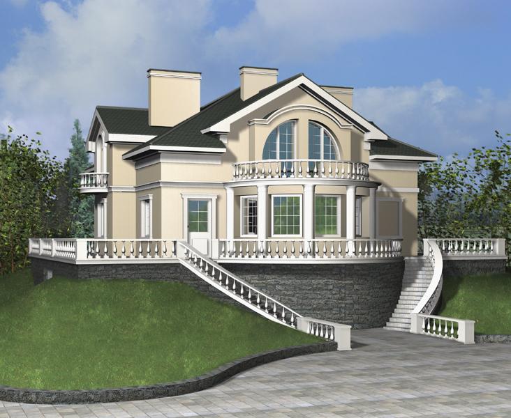 Строительство домов в Уфе из бруса под ключ Проекты и