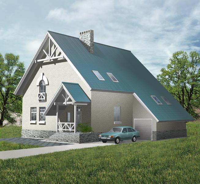 Домов из пеноблоков проекты домов для