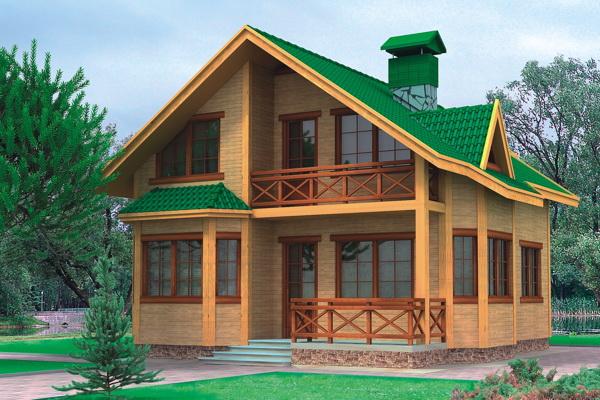 Projekty súkromných drevených domov