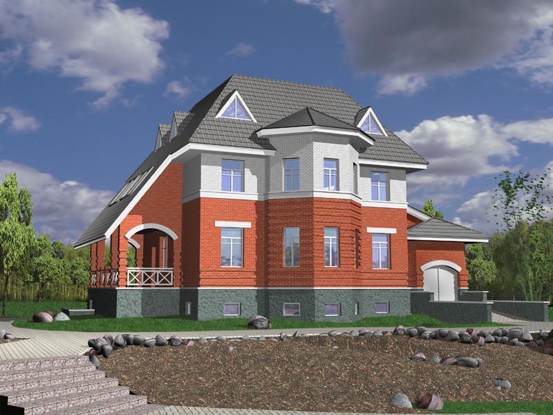 Проекты одноэтажных домов и коттеджей  Движущая Сила