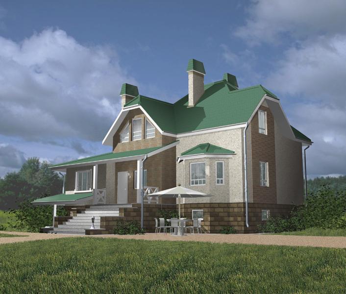 Проекты домов из СИП панелей: цены за домокомплект и под