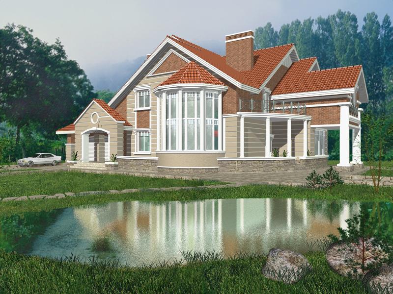 Дизайн двухкомнатного дома