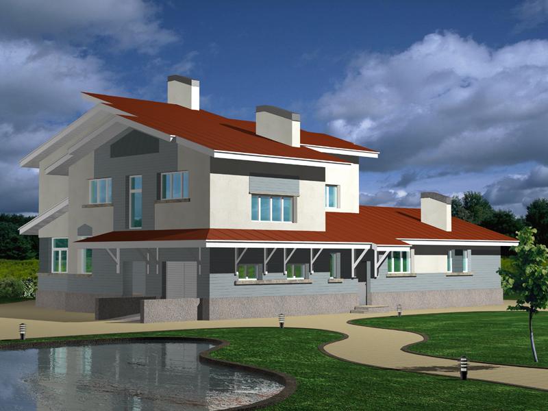 Проекты домов из пеноблока своими руками