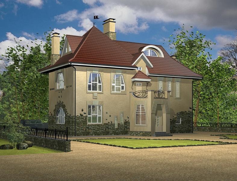 Проекты классических домов  лучшие цены на готовые