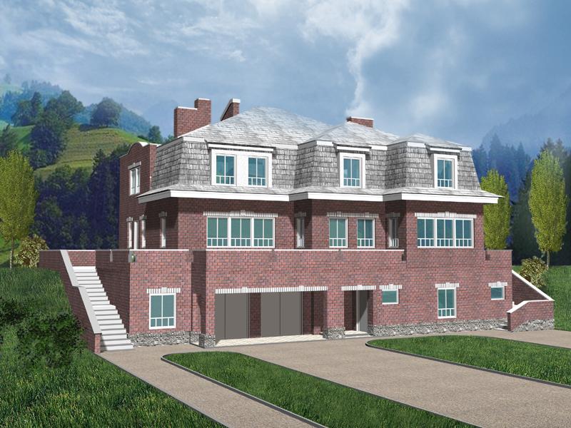 Строительство двухэтажного дома своими руками чертежи 119