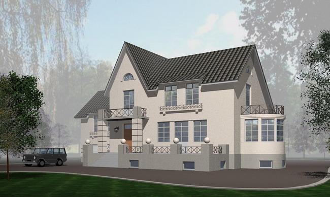 Проект дома из сибита своими руками